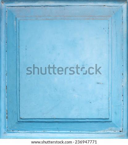 Old wooden door background close up shoot - stock photo