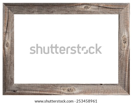 old wooden frame