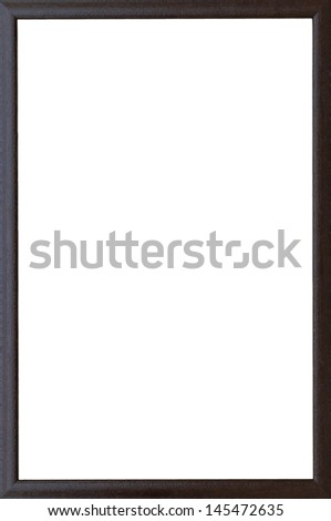Old wooden frame that can be used immediately - stock photo