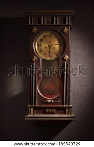 Old grandfather clock stock images royalty free images vectors shutterstock - Wall hanging grandfather clock ...
