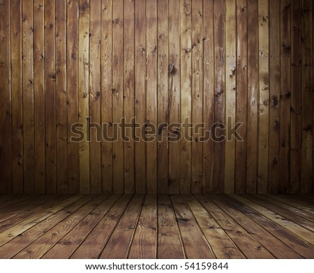 old wooden interior