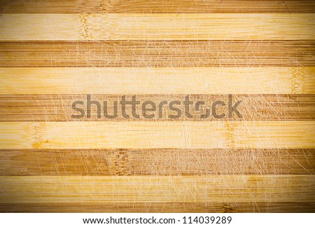 Old Wooden Kitchen Board Texture, Background - stock photo