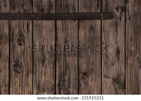 Old wooden plank brown background for advertising or publicity.