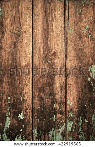 Old wooden planks background texture - stock photo