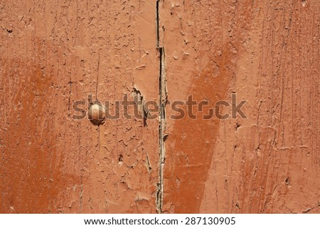 Old wooden shutter background - stock photo