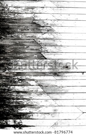 old wooden surfaces - stock photo