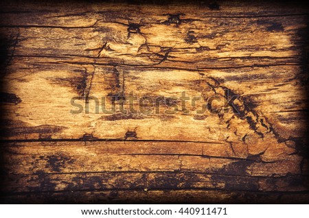 Old wooden texture. - stock photo