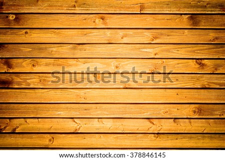 Old wooden wall (as a background) - stock photo