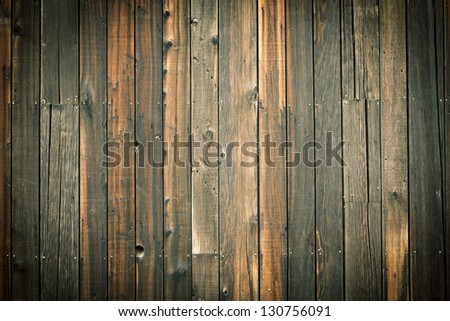 Old wooden wall background