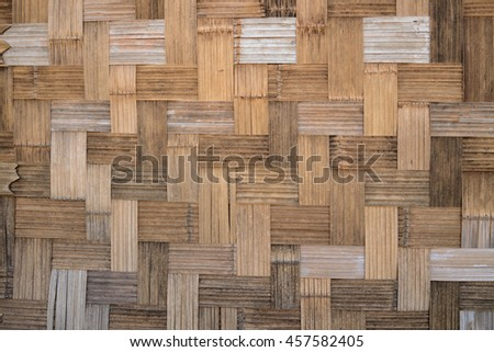 Old wooden wall for backgrounds