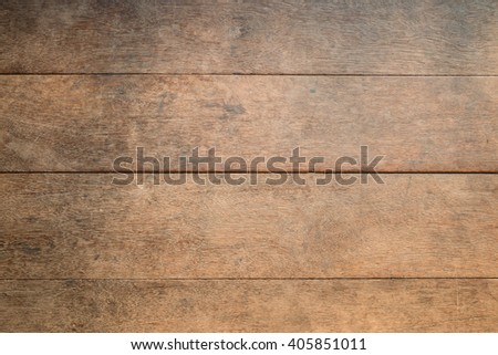 Old wooden wall or table texture for background - stock photo