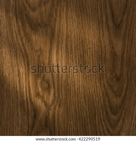 Old wooden wall with light. - stock photo