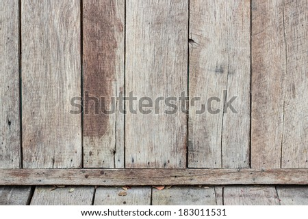 Old wooden walls texture background