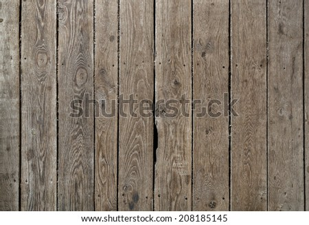 Old wooden weathered planks texture. - stock photo