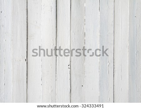 Old wooden white background.