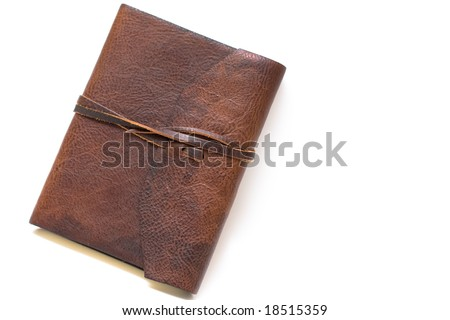 Old World Style Journal - stock photo
