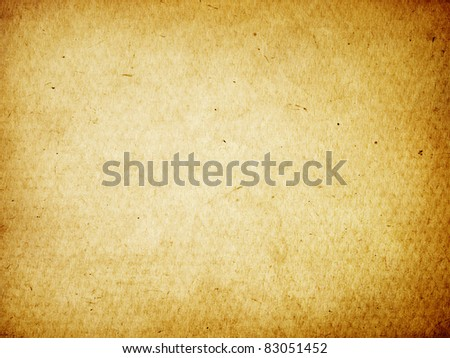 Old worn cardboard background. - stock photo