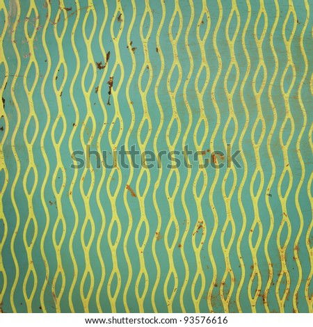 old worn lino as background - stock photo