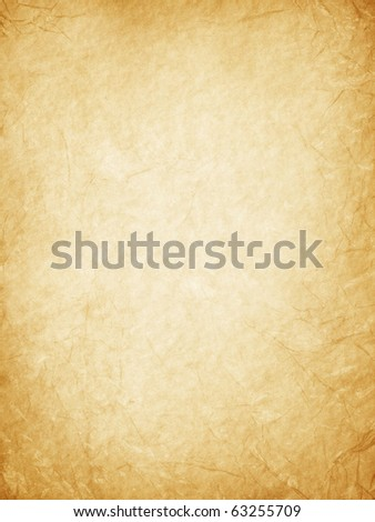 Old worn paper background. - stock photo