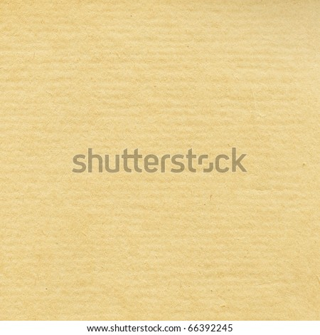 Old wrinkled paper, tan color - stock photo