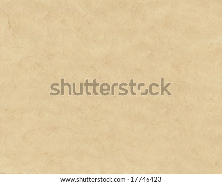 Old wrinkled paper texture - stock photo