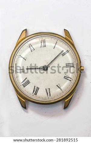 old wristwatch - stock photo