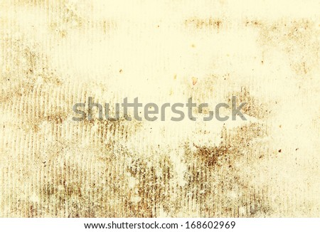 Old yellow paper - stock photo
