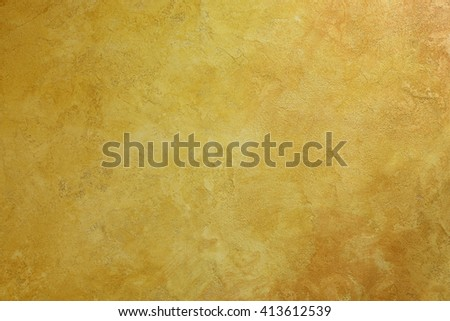 Old yellow wall texture - stock photo