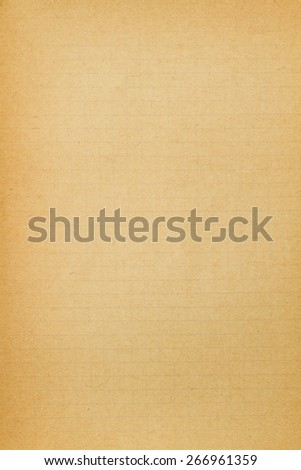 Old yellowed paper background - stock photo