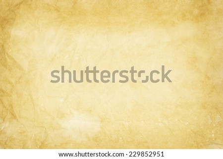 old yellowish paper texture  - stock photo