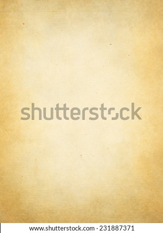 old yellowish  paper texture or background  - stock photo