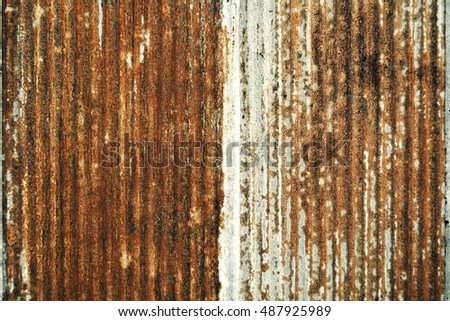 old zinc background for texture