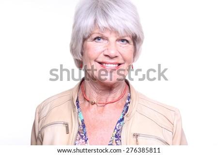 Older woman - stock photo