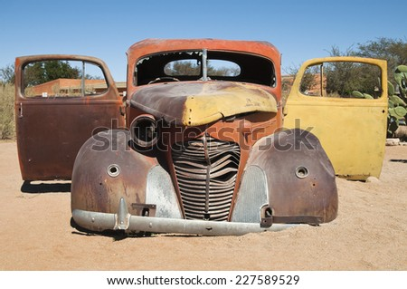 Oldtimer, Solitaire, Namibia, Africa