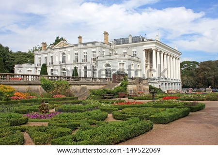 Oldway Mansion, Paignton - stock photo
