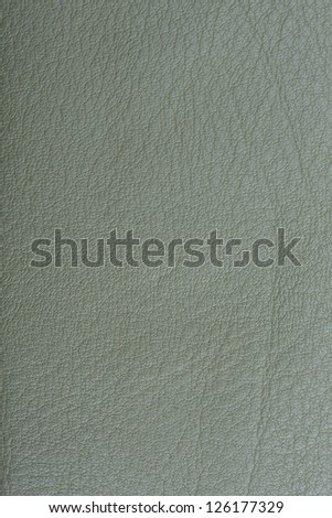 Olive green Leather Background - stock photo