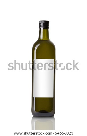 olive oil salad dressing - stock photo