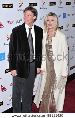 Olivia Newton-John at the G'Day USA Australia.com Black Tie Gala at the Hollywood & Highland Centre, Hollywood, CA. January 19, 2008  Los Angeles, CA Picture: Paul Smith / Featureflash - stock photo