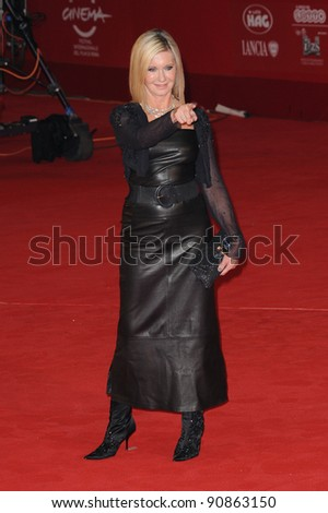 """Olivia Newton John at the premiere of """"A Few Best Men"""" during the 6th International Rome Film Festival. {month name}28, 2011, Rome, Italy Picture: Catchlight Media / Featureflash - stock photo"""