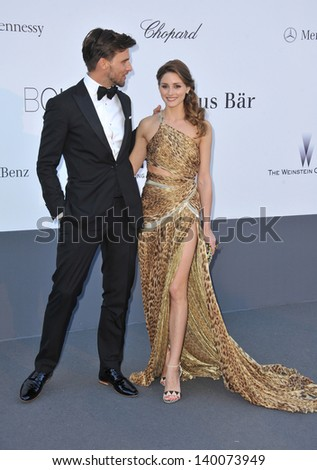 Olivia Palermo and Johannes Huebl at amfAR's 20th Cinema Against AIDS Gala at the Hotel du Cap d'Antibes, France May 23, 2013  Antibes, France - stock photo
