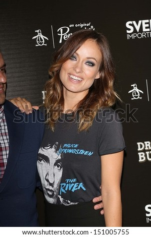 "Olivia Wilde at the ""Drinking Buddies"" Los Angeles Screening, Arclight, Hollywood, CA 08-15-13"