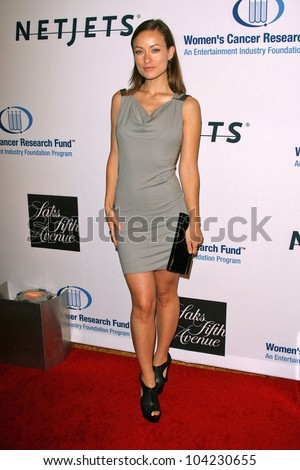 "Olivia Wilde  at the EIF's Women's Cancer Research Fund's ""An Unforgettable Evening"" Benefit, Beverly Wilshire Four Seasons Hotel, Beverly Hills, CA. 01-27-10"