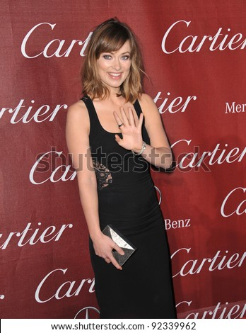 Olivia Wilde at the 2012 Palm Springs Film Festival Awards Gala at the Palm Springs Convention Centre. January 7, 2012  Palm Springs, CA Picture: Paul Smith / Featureflash