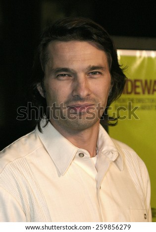 """Olivier Martinez at the """"Sideways"""" Los Angeles Premiere held at the Academy of Motion Pictures Arts and Sciences in Beverly Hills, California United States on October 12 2004. - stock photo"""
