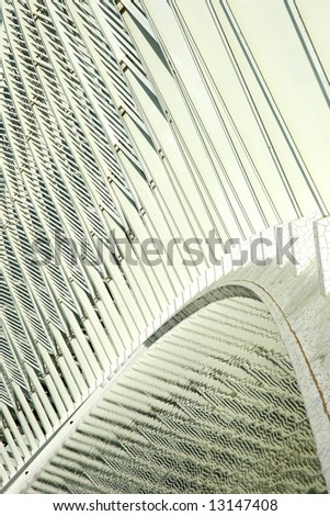 Olympic complex in Athens - an abstract detail