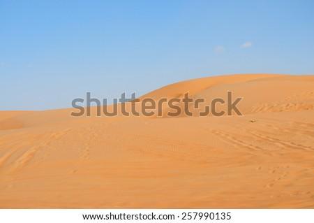 Oman desert - stock photo