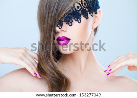 Ombre mystery - stock photo