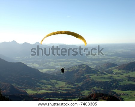 On a Hochries mountain in Germany. - stock photo
