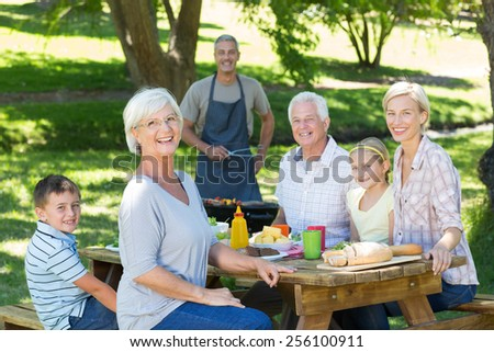 on a sunny day - stock photo