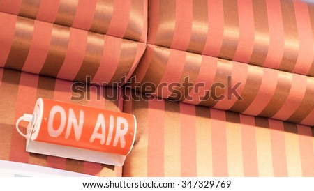 On air - stock photo